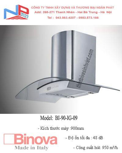 Máy hút khử mùi BINOVA BI-90-IG-09