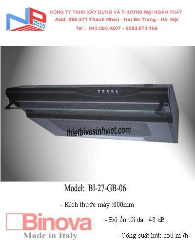 Máy hút khử mùi BINOVA BI-27-GB-06