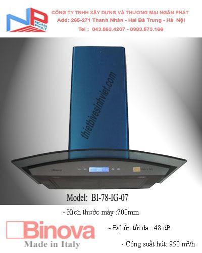 Máy hút khử mùi BINOVA BI-78-IG-07