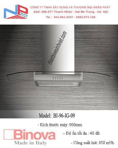 Máy hút khử mùi BINOVA BI-96-IG-09