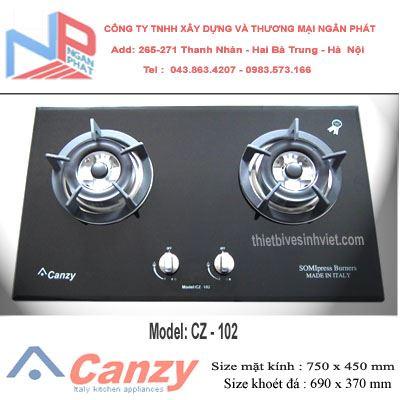 Bếp gas âm Canzy CZ-102