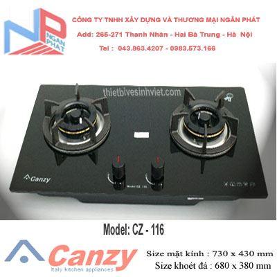 Bếp gas âm Canzy CZ-116