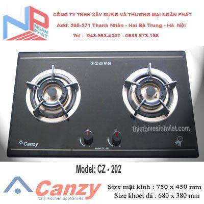 Bếp gas âm Canzy CZ-202