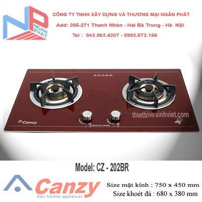 Bếp gas âm Canzy CZ-202BR