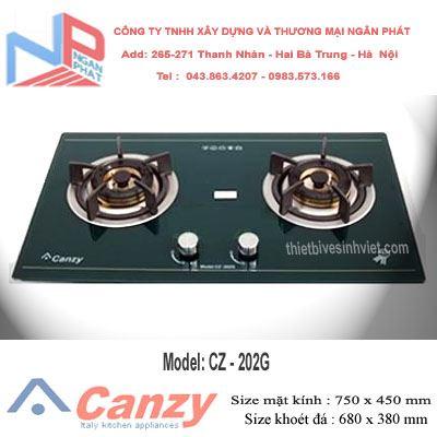 Bếp gas âm Canzy CZ-202G