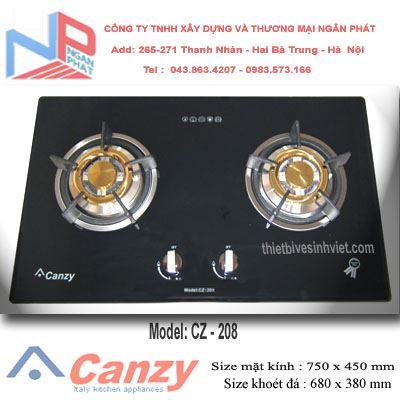 Bếp gas âm Canzy CZ-208