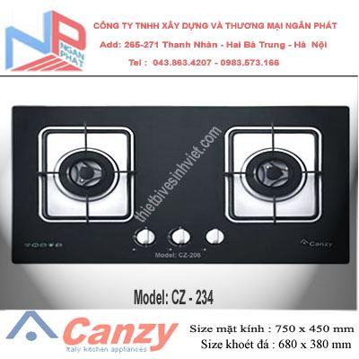 Bếp gas âm Canzy CZ-234
