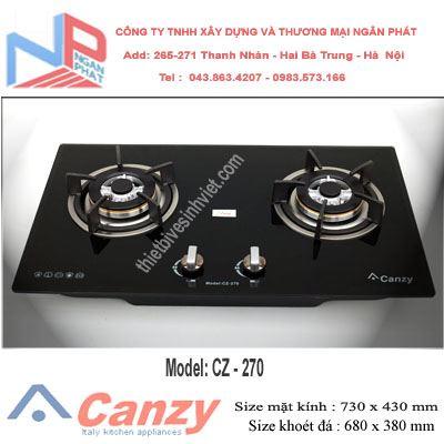 Bếp gas âm Canzy CZ-270