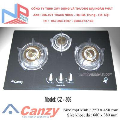 Bếp gas âm Canzy CZ-306
