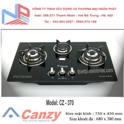 Bếp gas âm Canzy CZ-370