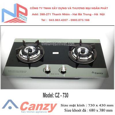 Bếp gas âm Canzy CZ-730