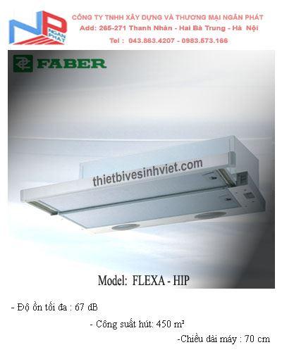 Máy hút khói khử mùi Faber Flexa-HIP (dài 70cm)