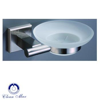 Kệ đĩa đựng xà phòng CleanMax 53009 Inox 304 mài mờ