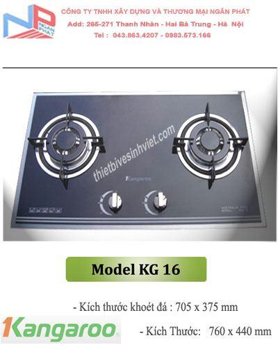 Bếp gas âm Kangaroo KG-16
