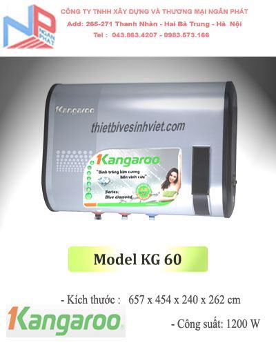 Bình nước nóng Kangaroo KG 60 (32 lít)