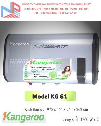 Bình nước nóng Kangaroo KG 61 (50 lít)