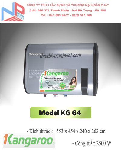 Bình nước nóng Kangaroo KG 64 (22 lít)
