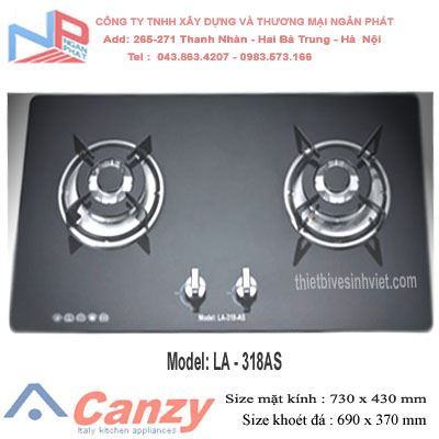 Bếp gas âm Latino LA-318AS