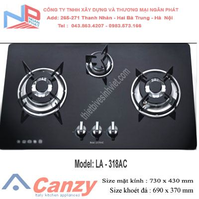 Bếp gas âm Latino LA-318AC