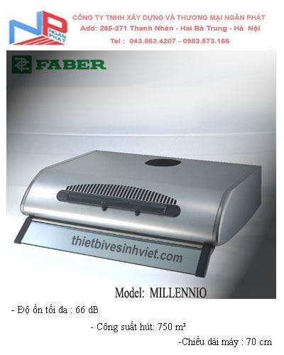 Máy hút khói khử mùi Faber Millennio (dài 70 cm)