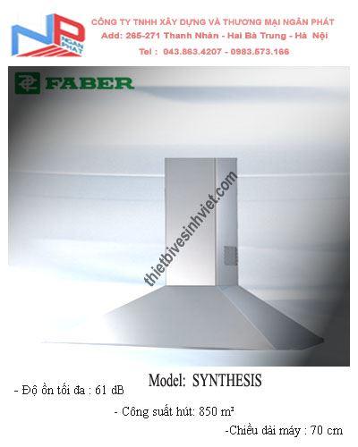 Máy hút khói khử mùi Faber Systhesis (dài 70cm)