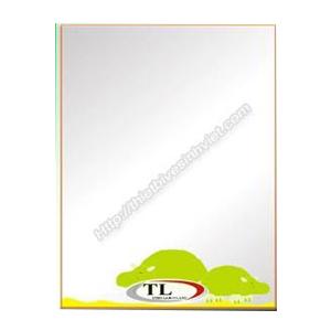 Gương ghép màu Tùng Lâm 1 lớp TL-1552 (50x70cm) Chữ Nhật