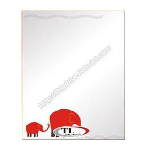 Gương ghép màu Tùng Lâm 1 lớp TL-1553 (50x70cm) Chữ Nhật