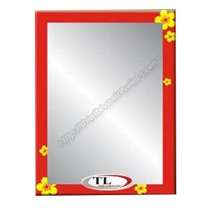 Gương ghép màu Tùng Lâm 1 lớp TL-1556 (50x70cm) Chữ Nhật