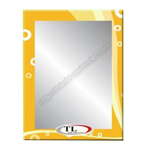 Gương ghép màu Tùng Lâm 1 lớp TL-1557 (50x70cm) Chữ Nhật