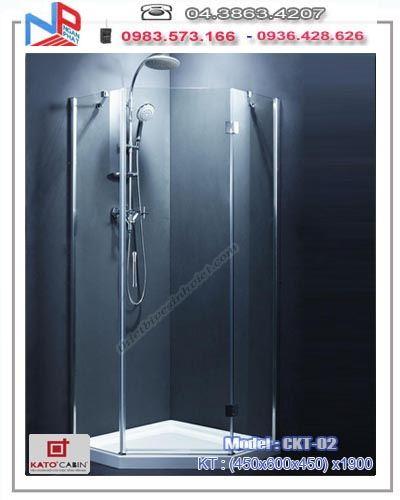 Vách kính tắm KATO CHARMING CKT-02