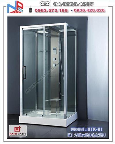 Vách kính tắm KATO  DELUXE – DKT