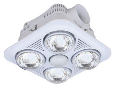 Lợi ích của lắp đèn sưởi phòng tắm