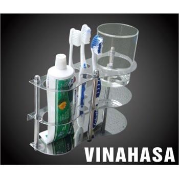 Kệ ly bàn chải đánh răng Vinahasa KB05