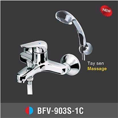Vòi sen tắm nóng lạnh INAX Tay sen Massage BFV-903S-1C
