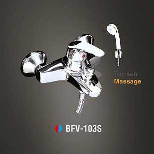 Vòi sen tắm nóng lạnh Tay sen massage INAX BFV-103S