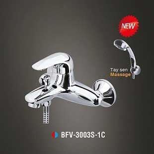 Vòi sen tắm nóng lạnh Tay sen Massage Inax BFV-3003S-1C