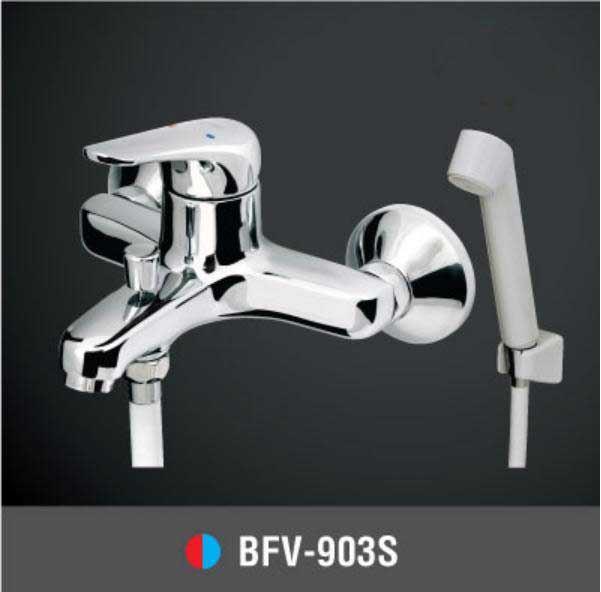 Vòi sen tắm nóng lạnh Tay sen nhựa INAX BFV-903S