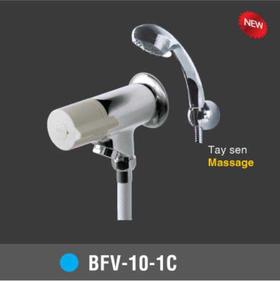Vòi sen tắm lạnh Tay sen Massage INAX BFV-10-1C