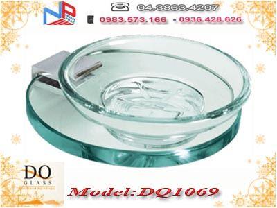 Kệ đựng xà phòng kính cường lực Đình Quốc DQ1069