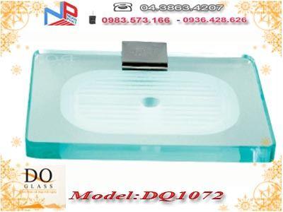 Kệ đựng xà phòng kính cường lực Đình Quốc DQ1072