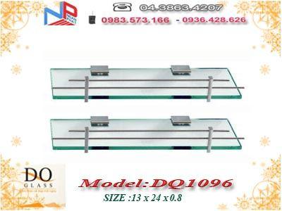Kệ kính thẳng 2 tầng Đình Quốc DQ1096