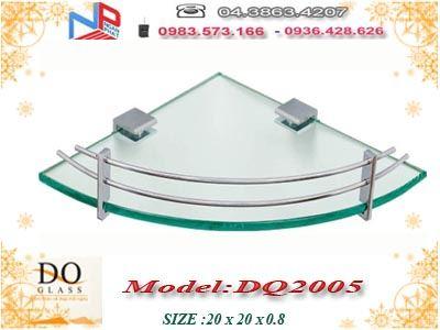 Kệ kính góc Đình Quốc DQ2005