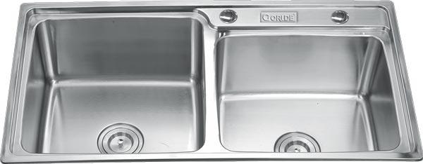 Chậu rửa bát Gorlde GD-944 (inox 304)