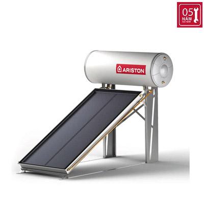 Năng lượng mặt trời Ariston tấm phẳng đơn 200L mái bằng