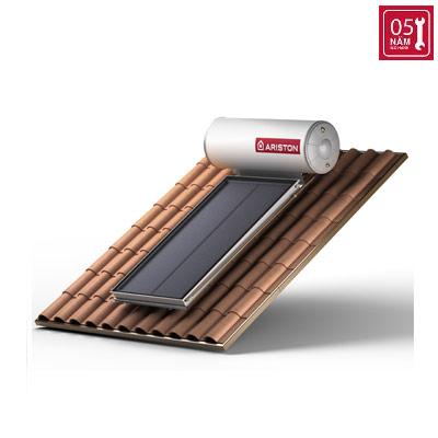 Năng lượng mặt trời Ariston tấm phẳng đơn 200L mái nghiêng