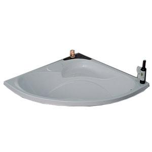 Bồn tắm góc xây MICIO W-125B (Acrylic)
