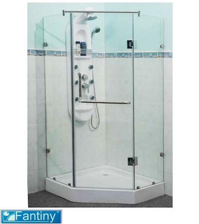 Cabin tắm vách kính FANTINY MBG-105S