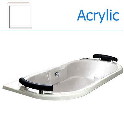 Bồn tắm xây MICIO W-180B (Acrylic)