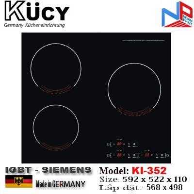 Bếp hỗn hợp 03 Từ Kucy KI-352