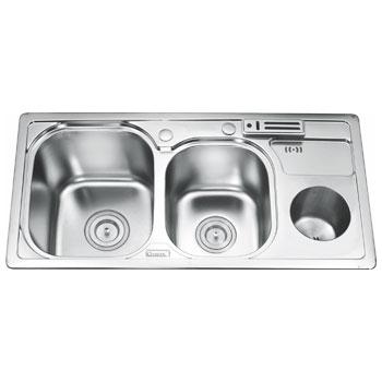 Chậu rửa bát Gorlde GD-5503 (Inox 304)